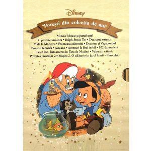 Coperta cartii Disney. Povesti din colectia de aur. Volumele 26-41