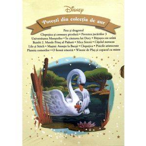 Coperta cartii Disney. Povesti din colectia de aur. Volumele 56-71