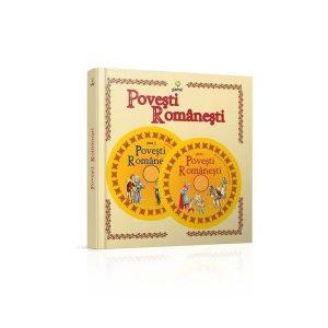 Coperta cartii Povesti romanesti